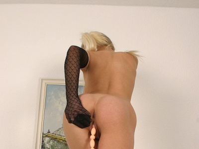 Preview Magic Legs - Nina Blonde Masturbate In Stockings